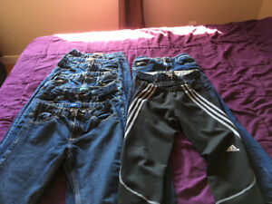 8 youth jeans pants 12-16
