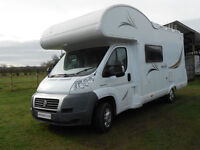Mooveo C 6 6 Berth Motorhome For Sale with 6 Seat Belts and Captains Seats.
