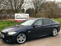2013 63 REG BMW 5 SERIES 2.0 520D M SPORT 4DR AUTO + FULL BMW SERVICE HISTORY +