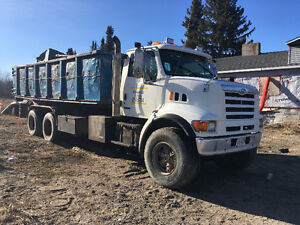 1999 Sterling Roll Off Truck