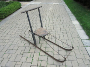Semi-antique dog sled from Labrador