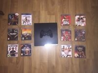 PS3 in great working order with games and accessories