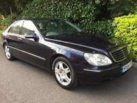 MERCEDES S CLASS S320 CDI 2004 Diesel Automatic in Blue