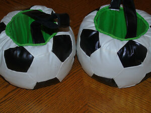 2 Soccer Ball Baskets & 7 Aprons