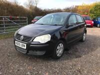 Volkswagen Polo 1.2 ( 55PS ) 2006MY Black *FSH*