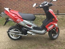 PEUGOT speedflight 2 100cc £800 spent 12 months mot