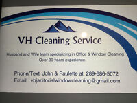 VH JANITORIAL & WINDOW CLEANING SERVICE