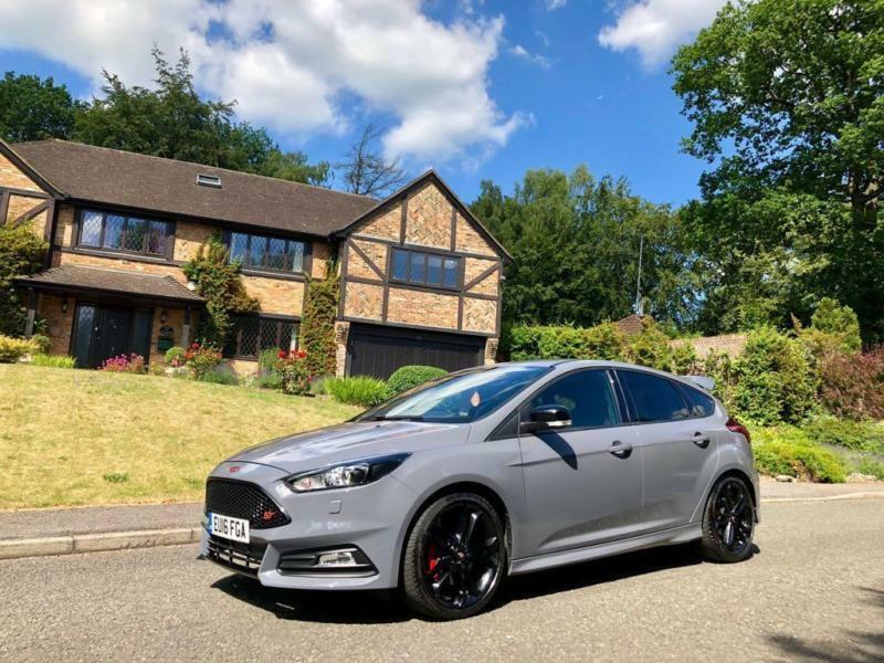 2016 16 Ford Focus St 2 0t St 3 Stealth Nardo Grey Rs Looks In High Wycombe Buckinghamshire Gumtree