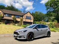 2016 16 Ford Focus ST 2.0T ST-3 / STEALTH NARDO GREY / RS LOOKS