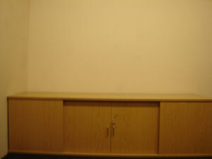 Used Maple cabinet with x ray reading screen built in for Doctor Regina Regina Area image 2