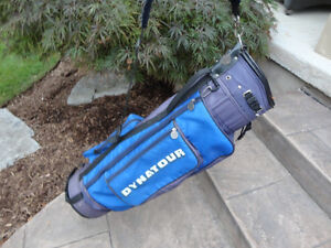 Dynatour Golf Cart Bag - 6 Section with many zippers compartment Kitchener / Waterloo Kitchener Area image 3