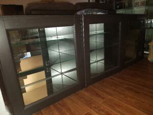 Meubles BESTA 3 blocs avec portes
