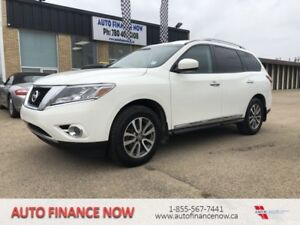 2014 Nissan Pathfinder 4WD 7 PASSENGER LEATHER CHEAP PAYMENTS 4W