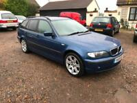 BMW 318 2.0 2002MY i SE Touring *Mot March 2018* leather interior