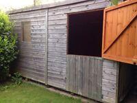 Garden shed dismantled 12ft x8ft