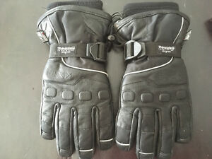 CKX leather gloves