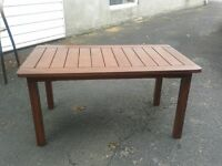 table patio basse