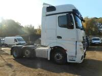 2014 MERCEDES ACTROS 2545 LS BIG SPACE TRACTOR UNIT TRUCK DIESEL