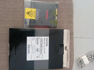 SSD 256 GB  SanDisk  2.5 Neuf