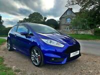 Ford Fiesta 1.6 ( 182ps ) EcoBoost 2014 ST 2 BLUE ST-2 TURBO BLUE MANUAL 3dr