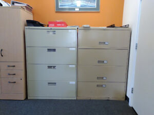 Filing Cabinets, Vertical and Lateral