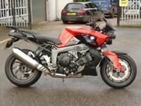 BMW K1300 R IN RED 2014 ONLY 6834 MILES