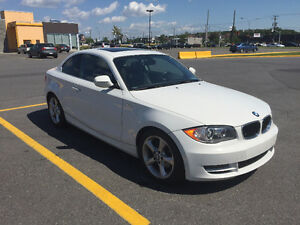 BMW 128i Automatic White FOR SALE Ultra Clean Winter Tires Incl.