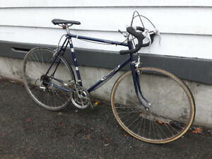 "Large Vintage 23"" Mens' Raleigh Challenger Road bike (tuned up)"