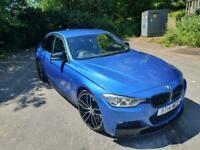 2014 BMW 335D 3.0TD ( 313bhp ) Auto xDrive M Sport M performance Estoril Blue