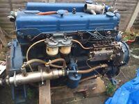 Six cylinder diesel engine