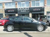 2011 Ford Focus 1.6TDCi ( 115ps ) Titanium 5DR 61 REG Diesel Black