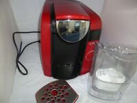 *** TASSIMO JOY COFFEE MACHINE - RED - AS GOOD AS NEW