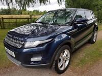 Land Rover Range Rover Evoque 2.2SD4 Pure Tech 13 reg 5dr Baltic Blue Lady Owner