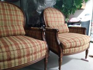 Ethan Allen Suzette Chairs (2)