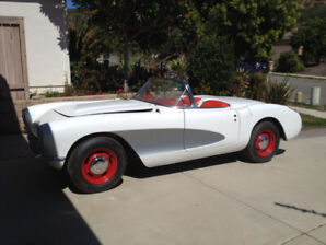 1956 Chevrolet Corvette, really nice car, just across the border