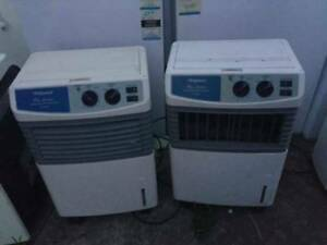 2 coolers , it is not a airconditioner. it is a cooler .can put