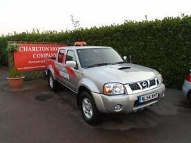 2004 Nissan Navara 2.5 Di Rally Raid Crewcab Pickup 4dr