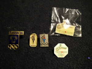 Olympic pins - applicant cities - VERY RARE