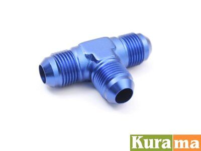 AN-4 AN4 Male Flare Tee T Piece 3-Way Alloy Adaptor Fittings 3 Way Flare Tee