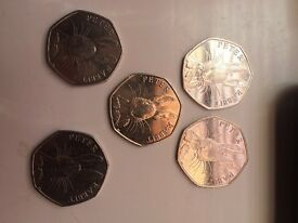 5 peter rabbit coins