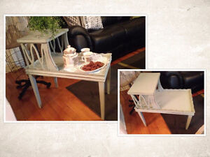 Table antique relooke #974