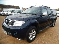 2014 64 NISSAN NAVARA 2.5 DCI TEKNA 4X4 DOUBLECAB PICK UP 54567 MILES ONLY DIESE