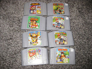 LOT OF GOOD N64 GAMES