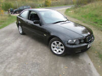 BMW 316 1.8 2002MY ti SE Compact with 12 months MOT and FSH