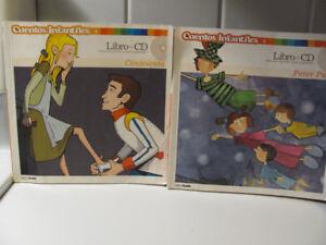 Disney Stories Cuentos Infantiles Libro and CD
