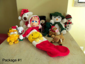 Assorted Stuffed Toys/Decorations