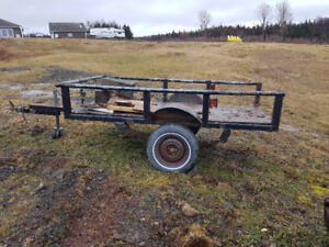 Two utility trailers  for sale
