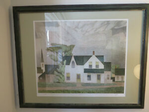 A LTD EDITION PRINT BY A. J. CASSON GROUP OF SEVEN VILLAGE HOUSE Kitchener / Waterloo Kitchener Area image 2