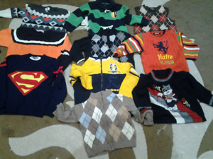 Size 2t to 4t boys winter clothing lot