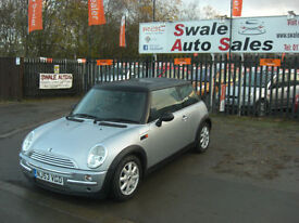 2003 MINI COOPER 1.6L ONLY 64,111 MILES, FULL SERVICE HISTORY IN GREAT CONDITION
